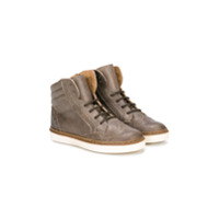 Pèpè lace up boots - Grey