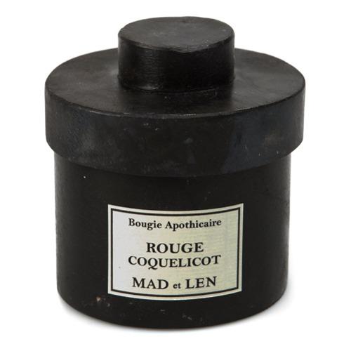 Billede af Mad Et Len 'Rouge Coquelicot' scented candle - Black