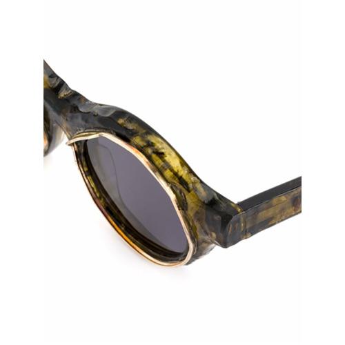 Billede af Kuboraum A1 sunglasses - Yellow & Orange