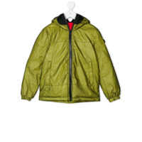 Ai Riders On The Storm Kids pocket down jacket - Green