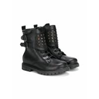 Diesel Kids combat boots - Black
