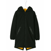 Ai Riders On The Storm Kids hooded coat - Black