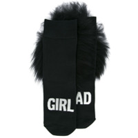 Hysteric Glamour Bad Girls socks - Black