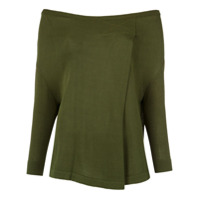 Gloria Coelho knit blouse - Green