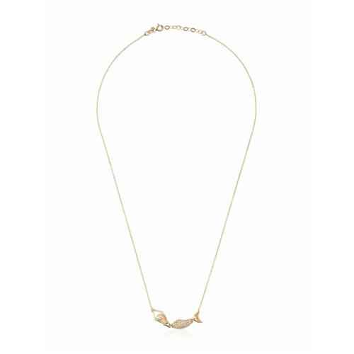 Billede af Anton Heunis Gold Mermaid Diamond Necklace - Metallic