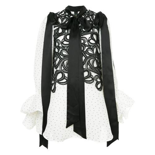 Bild på Romance Was Born Beep Beep bow blouse - White