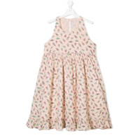 Stella Mccartney Kids printed dress - Pink & Purple