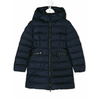 Moncler Kids classic padded coat - Blue