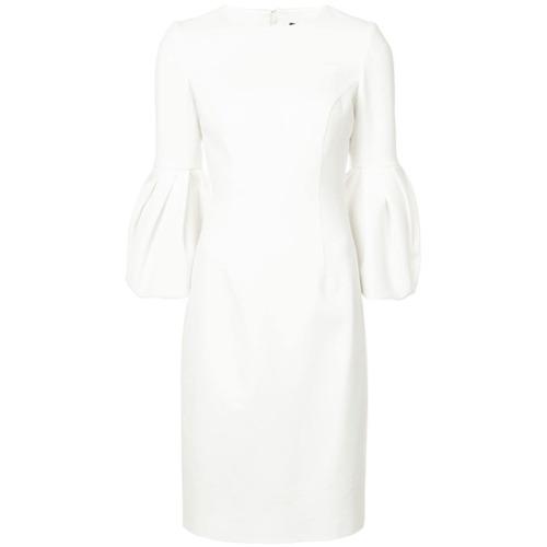 Billede af Carolina Herrera bell sleeve dress - White