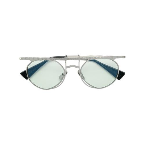Billede af Kuboraum flat top tinted sunglasses - Metallic