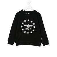 Boy London Kids logo sweatshirt - Black