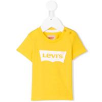 Levi's Kids logo printed T-shirt - Yellow & Orange
