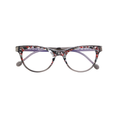 Bild på Res Rei patterned round glasses - Grey