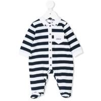 Le Bebé Enfant striped pajamas - Blue