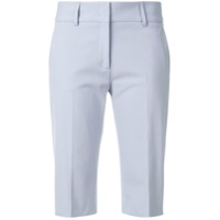 Piazza Sempione tailored knee length shorts - Blue