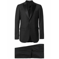 Mauro Grifoni classic two-piece suit - Black