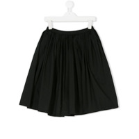 Douuod Kids TEEN pleated skirt - Black