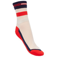 Fendi colour block socks - Multicolour