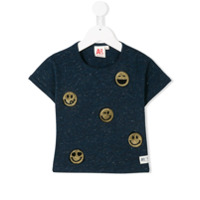 American Outfitters Kids sequined metallic T-shirt - Blue