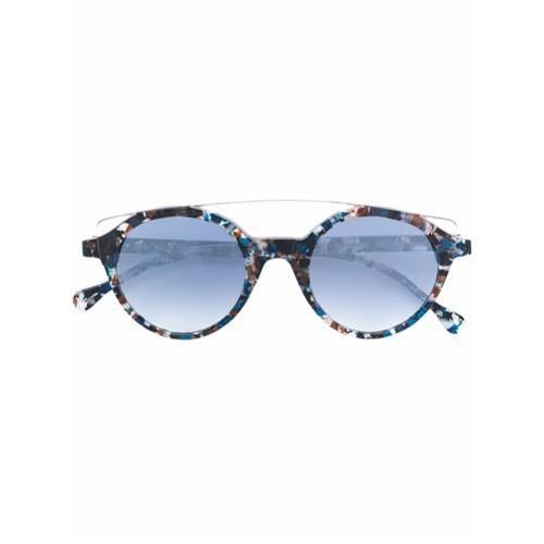 Bild på Res Rei patterned round sunglasses - Blue