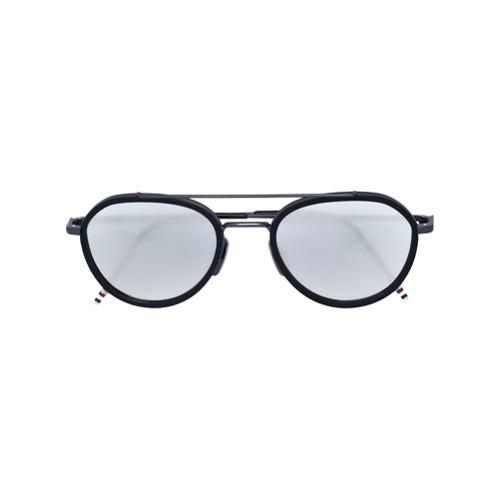 Bild på Thom Browne Eyewear aviator sunglasses - Black
