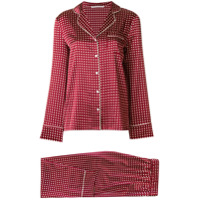 Stella McCartney polka dot pyjama set - Red