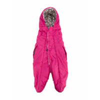 Miki House padded fleece-lined nest - Pink & Purple