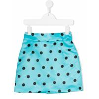 Marco Bologna Kids polka dot skirt - Blue