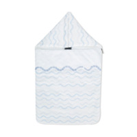 Young Versace embroidered detail sleep bag - White