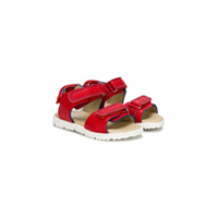 Montelpare Tradition open toe sandals - Red