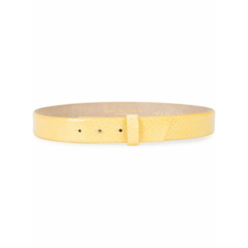 Billede af Carolina Herrera classic belt - Yellow & Orange