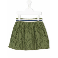 Bellerose Kids floral lace patterned skirt - Green