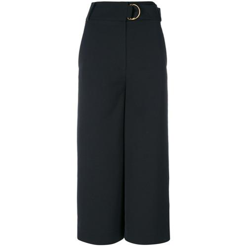 Imagen principal de producto de Tibi pantalones capri anchos - Negro - Tibi