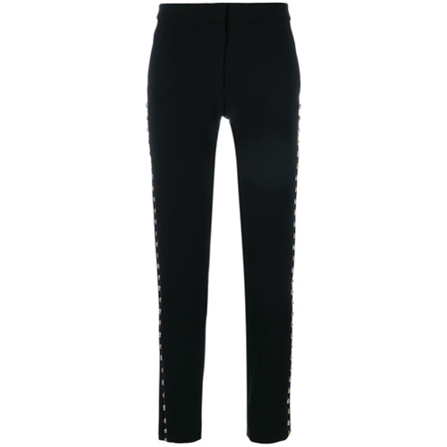 Imagen principal de producto de Moschino pantalones con apliques - Negro - Moschino
