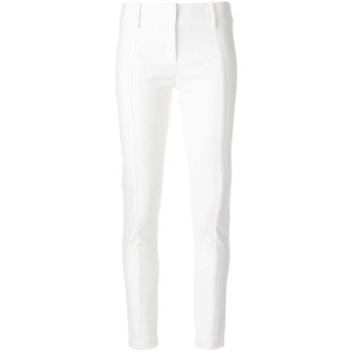 Imagen principal de producto de Patrizia Pepe pantalones pitillos - Blanco - Patrizia Pepe