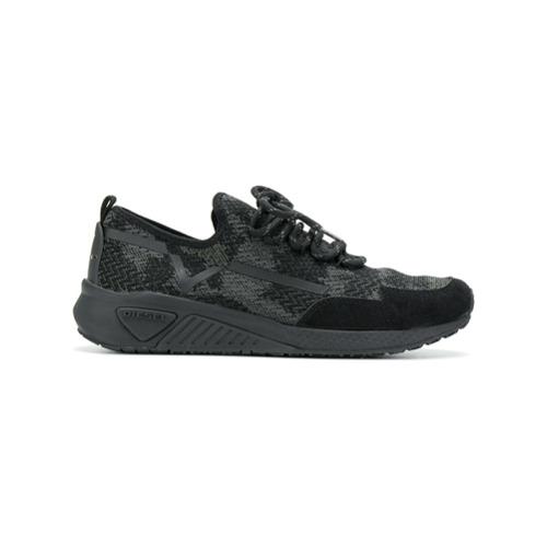 Imagen principal de producto de Diesel zapatillas con cordones - Negro - Diesel