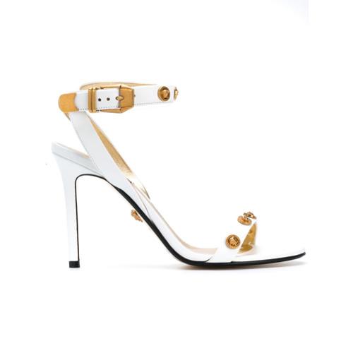 Imagen principal de producto de Versace sandalias al tobillo - Blanco - Versace