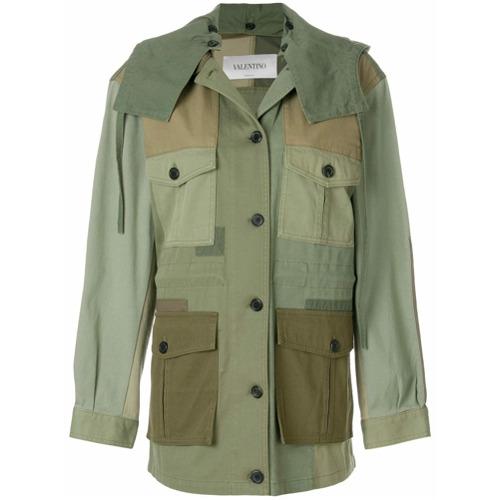 Imagen principal de producto de Valentino patch army jacket - Verde - Valentino