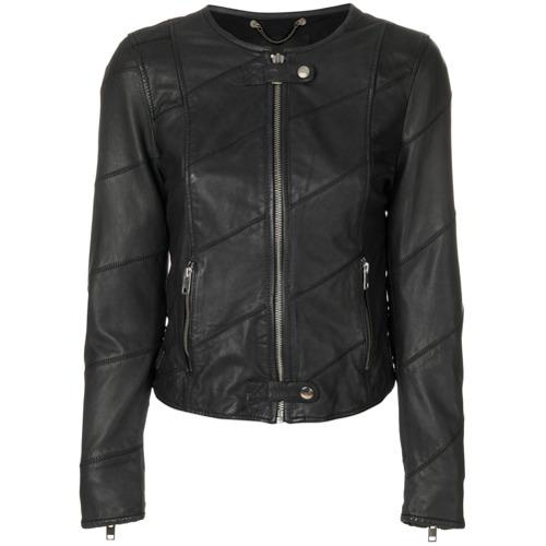Imagen principal de producto de Diesel chaqueta con cremallera frontal - Negro - Diesel