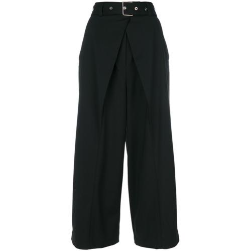 Imagen principal de producto de Proenza Schouler pantalones palazzo con cinturón - Negro - Proenza Schouler