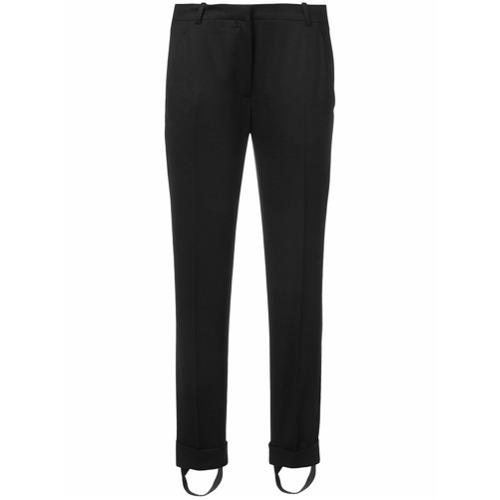 Imagen principal de producto de Carven pantalones con bajos con vuelta - Negro - Carven
