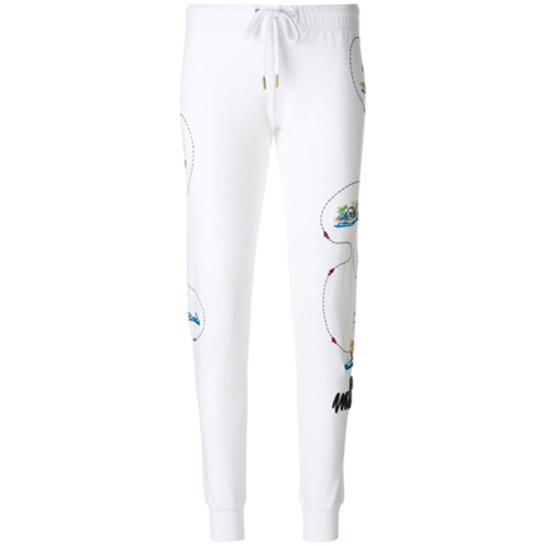 Imagen principal de producto de Love Moschino pantalones de chándal estampados - Blanco - Moschino