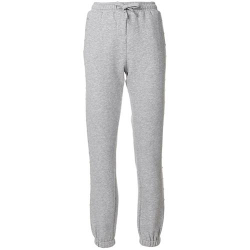 Imagen principal de producto de Zoe Karssen pantalones de chándal con apliques redondeados - Gris - Zoe Karssen
