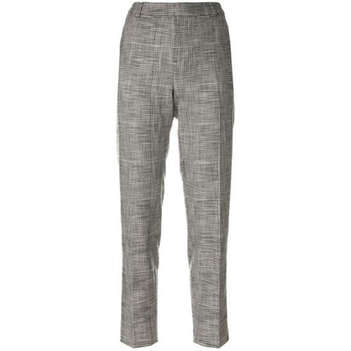 Imagen principal de producto de Essentiel Antwerp pantalones capri con raya lateral - Gris - Essentiel Antwerp