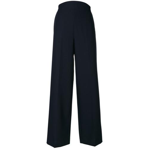 Imagen principal de producto de Valentino pantalones palazzo de pinza - Azul - Valentino