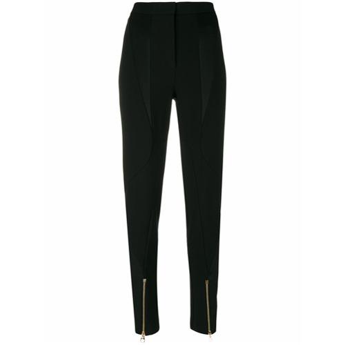 Imagen principal de producto de Versace pantalones con cremallera en los puños - Negro - Versace