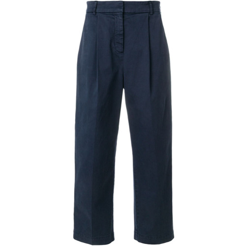Imagen principal de producto de YMC pantalones de talle alto - Azul - YMC