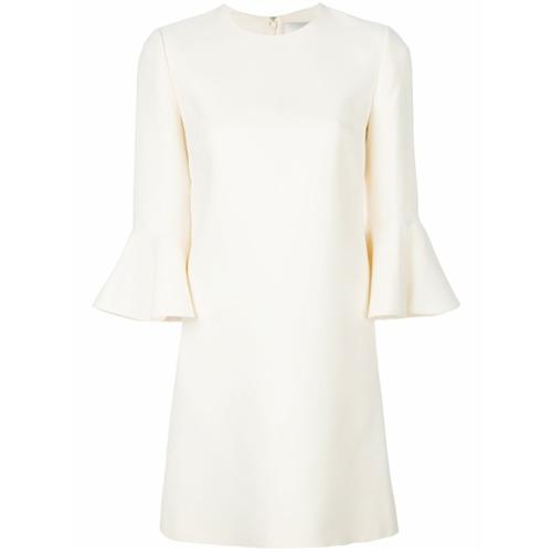 Imagen principal de producto de Valentino vestido con mangas acampanadas - Blanco - Valentino