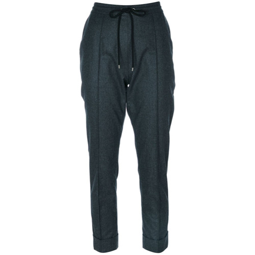Imagen principal de producto de Kenzo pantalones de vestir con cordones - Gris - Kenzo