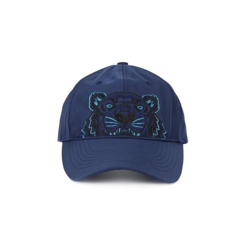 Kenzo gorra de lona Tiger - Azul